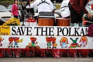 2009 Oktoberfest Parade Save the Polka Float
