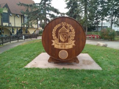 Concordia Club 150th - Plaque Barrel 01