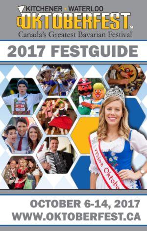 KW Oktoberfest 2017 Festguide Cover